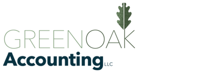Green Oak Accounting Logo