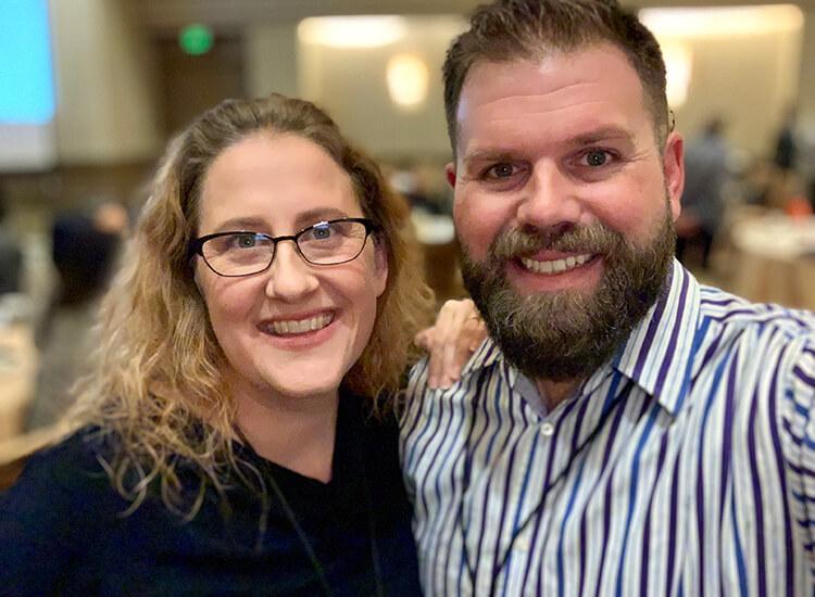 Katie Vernoy & Curt Widhalm