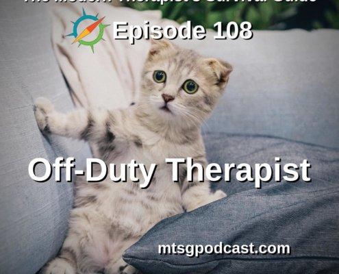 Off-Duty Therapist