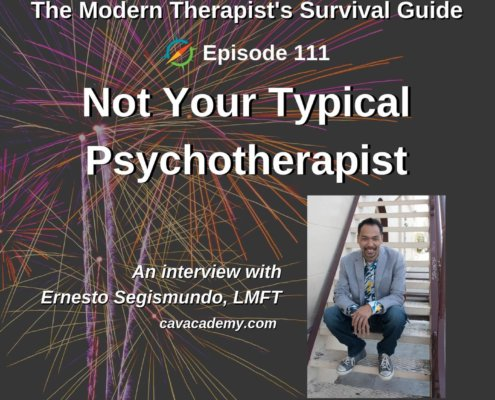 Not Your Typical Psychotherapist