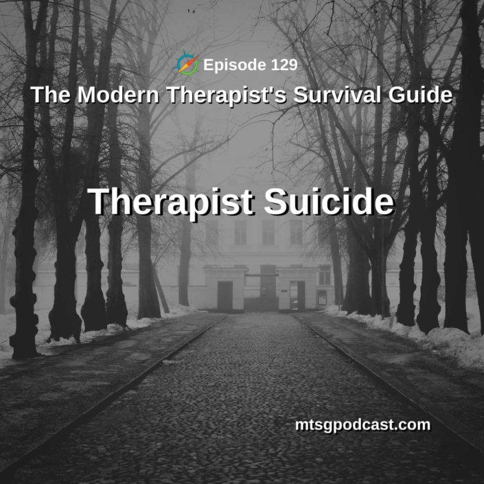 Therapist Suicide