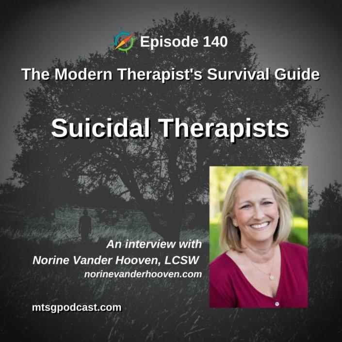 Suicidal Therapists