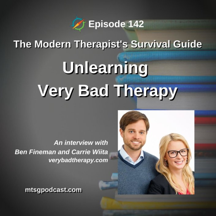 Unlearning Very Bad Therapy