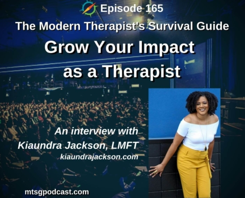 Greater Impact as a Therapist