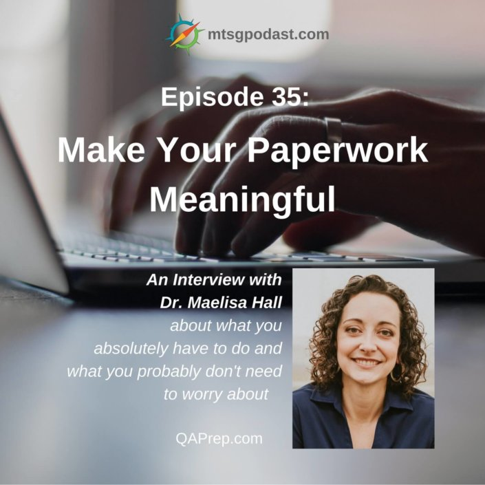 Make Your Paperwork Meaningful