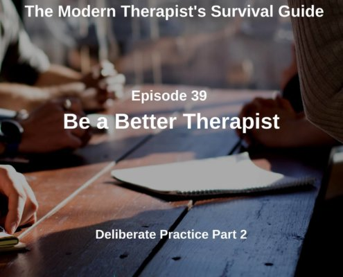 Be a Better Therapist
