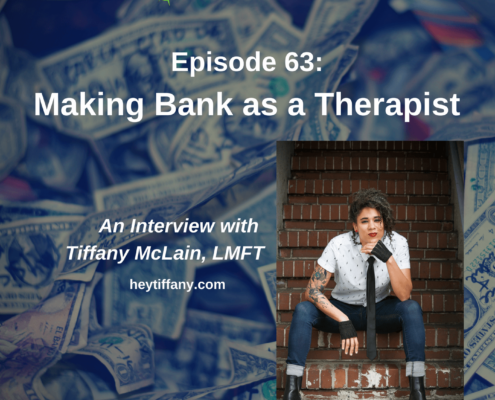 Making Bank as a Therapist