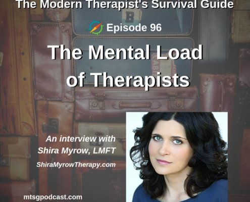 The Mental Load of Therapists
