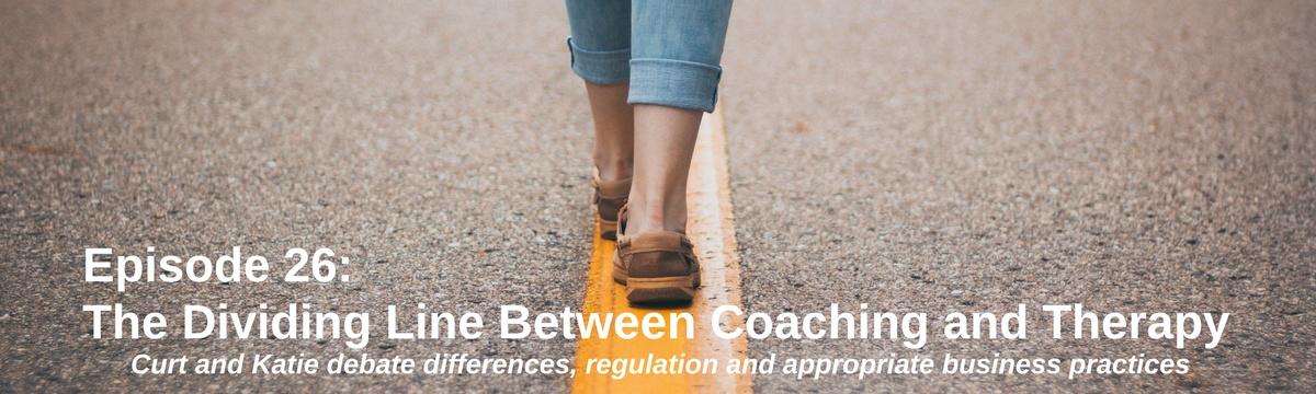 Dividing Line Between Coaching and Therapy