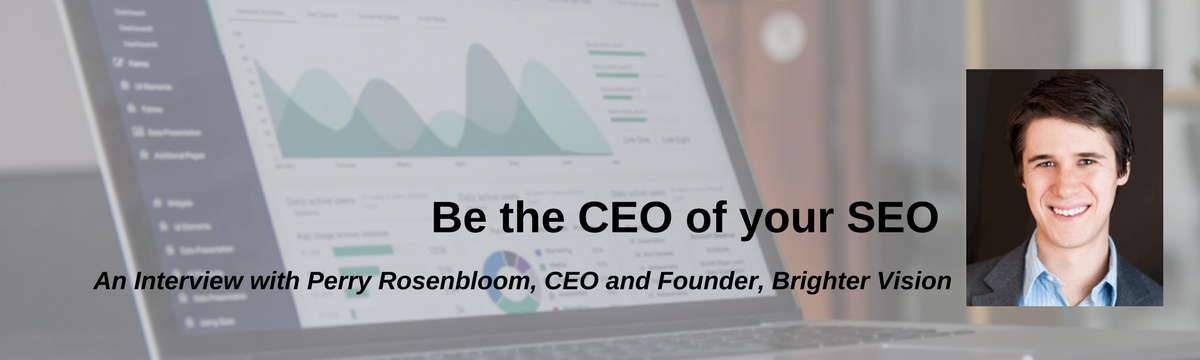 Be the CEO of your SEO