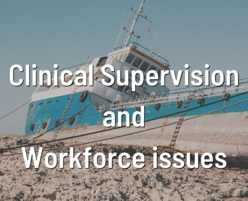 Clinical Supervision and Workforce issues