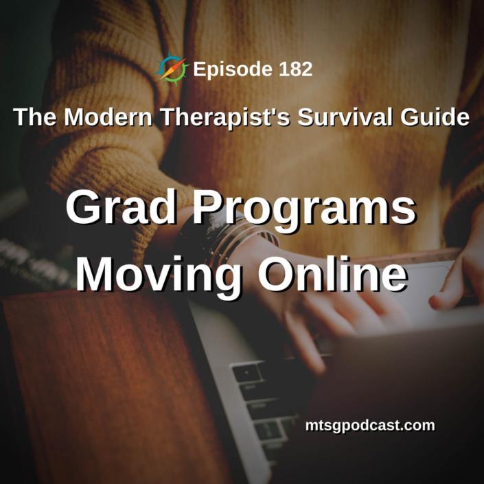 Grad Programs Moving Online