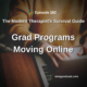 Grad Programs Moving Online