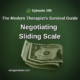 Negotiating Sliding Scale