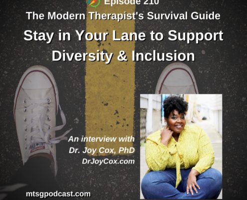 How to Stay in Your Lane to Support Diversity and Inclusion